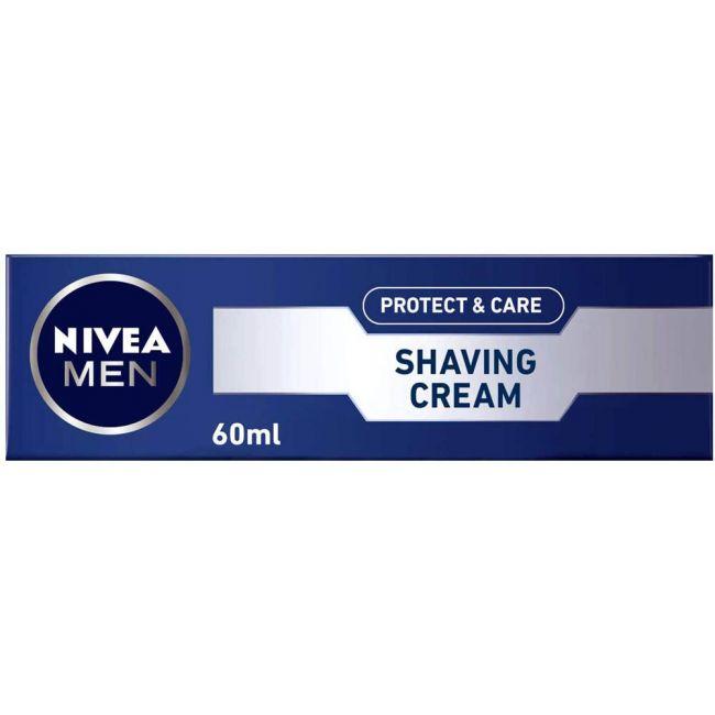 Nivea - Men Protect & Care Shaving Cream 60Ml