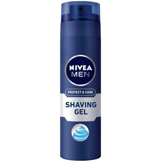 Nivea - Men Protect & Care Shaving Gel 200Ml