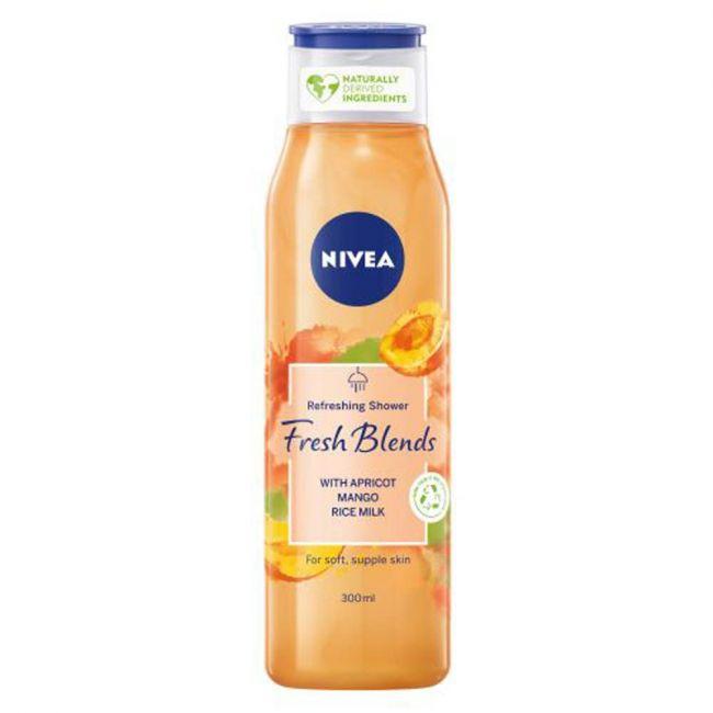Nivea - Shower Gel Fresh Blends Apricot 300Ml