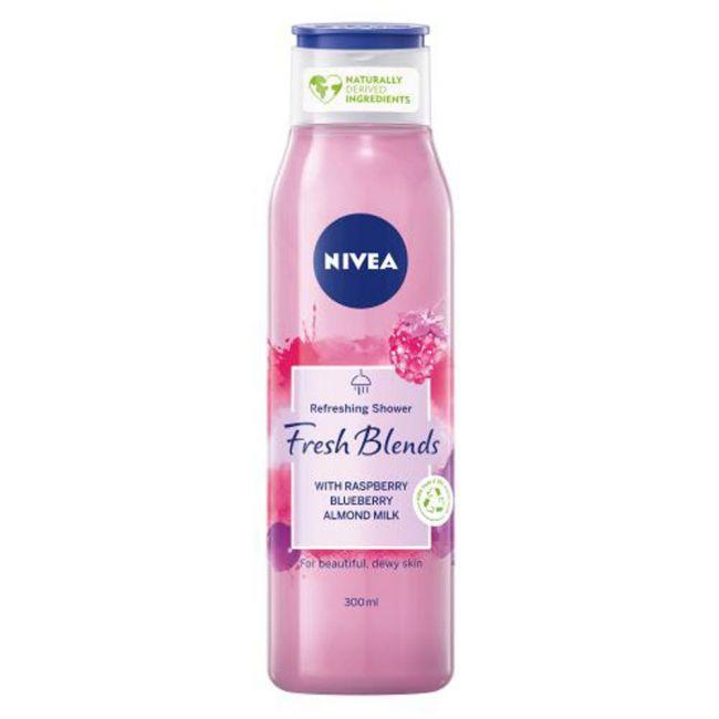 Nivea - Shower Gel Fresh Blends Raspberry 300Ml