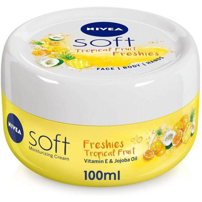 Nivea - Soft Tropical Fruit Freshies 100Ml