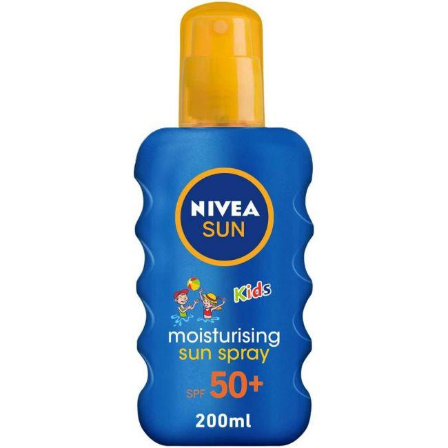 Nivea - Sun Kids Moisturising Spray Spf 50+ 200Ml
