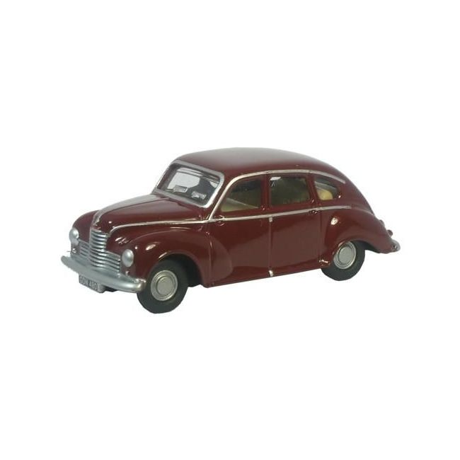 Oxford Diecast Maroon Jowett Javelin Toy Car