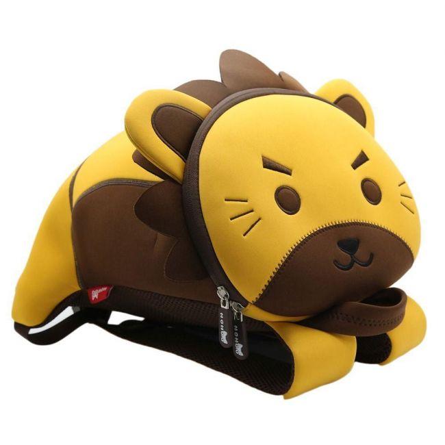 Nohoo Jungle 3D School Backpack - Lion