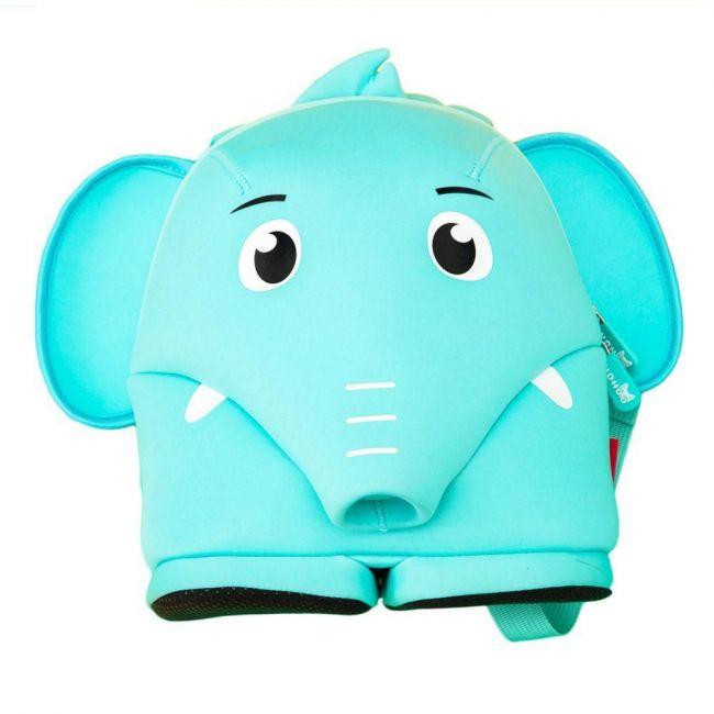 Nohoo Jungle Blue School Backpack Anti Lost - Elephant