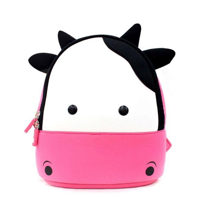 Nohoo Jungle School Backpack - Cow