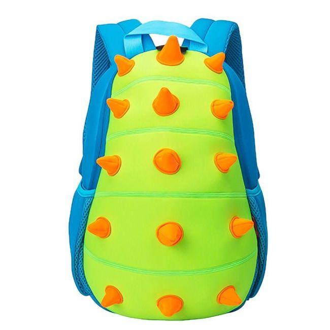 Nohoo Jungle Green School Backpack - Spiky Dinosaur