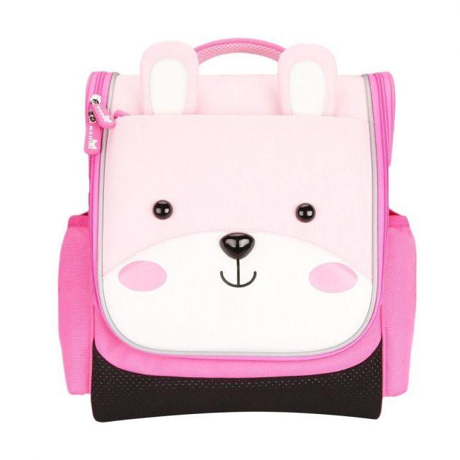 Nohoo Jungle Kids Pink School Bag - Sapiential Bear
