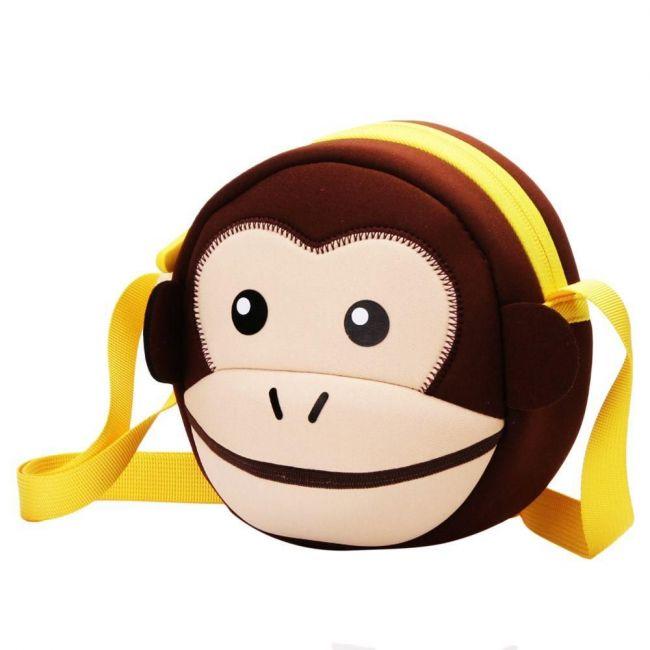 Nohoo Jungle Sling Bag- Monkey