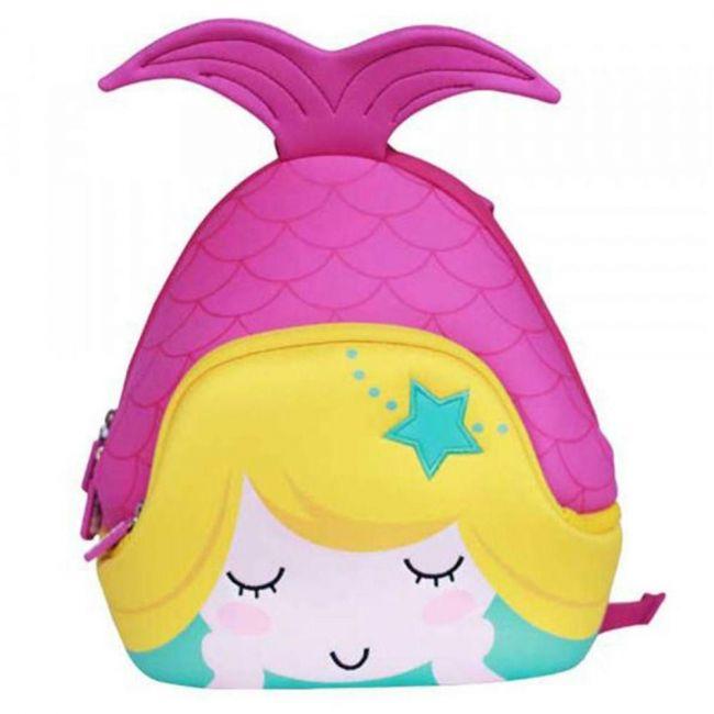 Nohoo Ocean Pink School Backpack - Mermaid