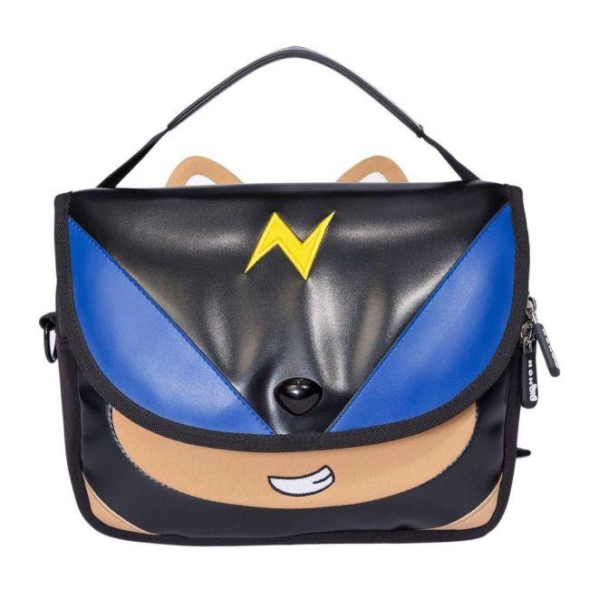 Nohoo Wow Black School Handbag - Space Dog