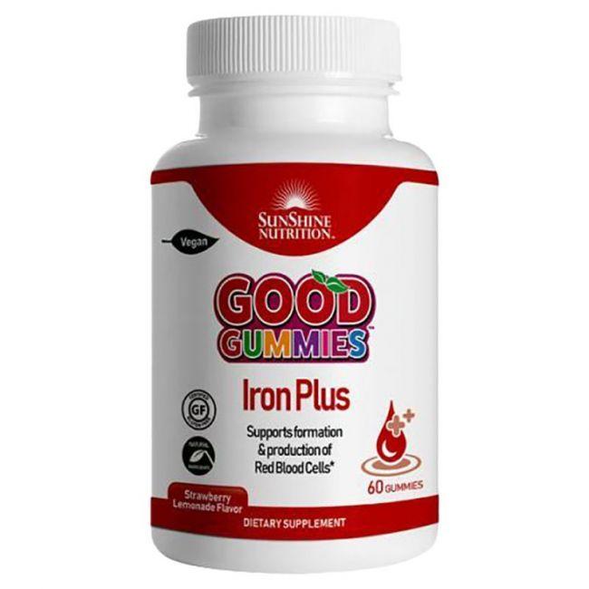Sunshine Nutrition - Good Gummies Iron Plus Gummies 60's