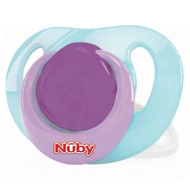 Nuby - Classic Ortho Pacifier Soother From 6 36 Months With Handle 1 Piece