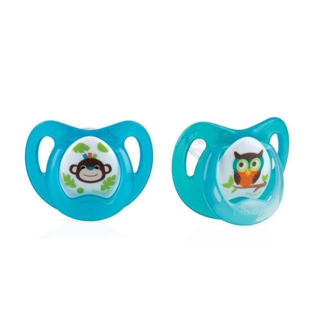 Nuby - Comfort Ortho Soother Pacifier From 0 6 Months 2 Piece