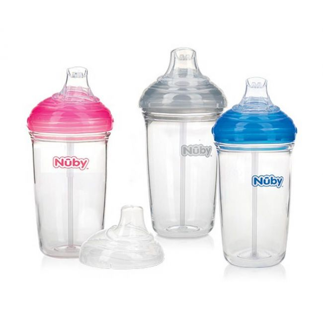 Nuby - D Soft Spout Cup Made With Tritan 300 Ml