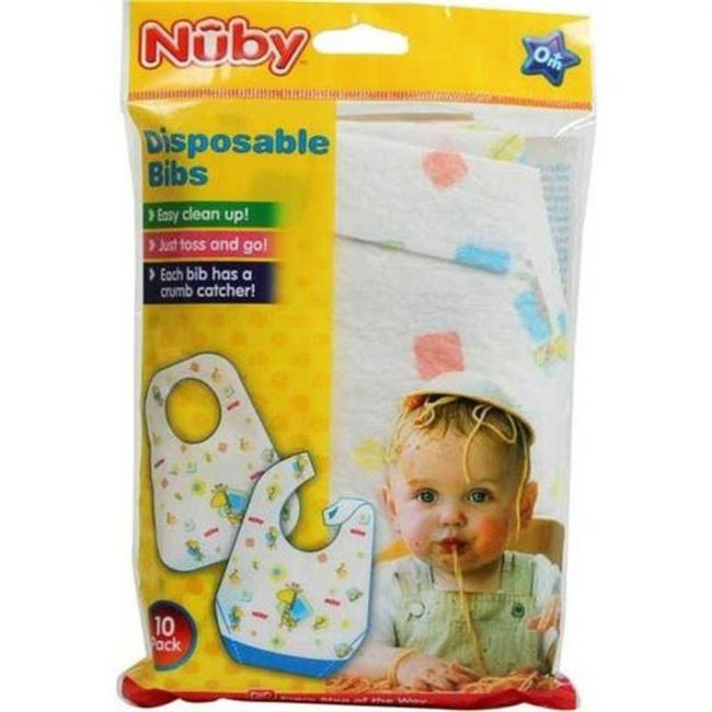 Nuby - Disposable Bibs