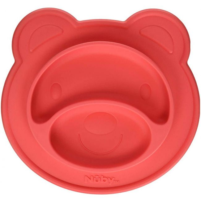 Nuby - Miracle Suction Plate Bear 3 Piece