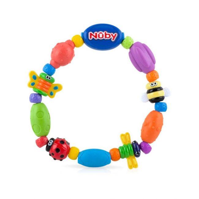 Nuby - Playful Teething Bracelet Bug A Loop