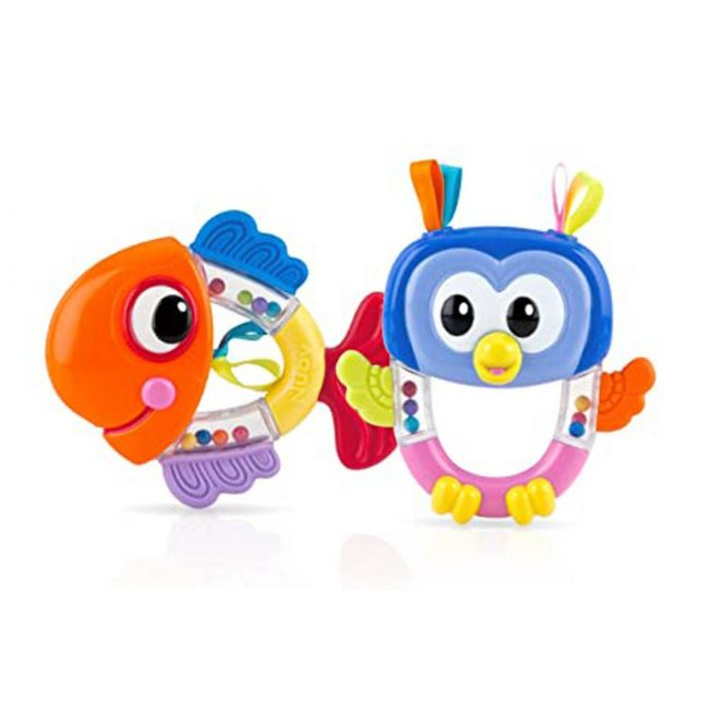 Nuby - Rattle Pals Teether