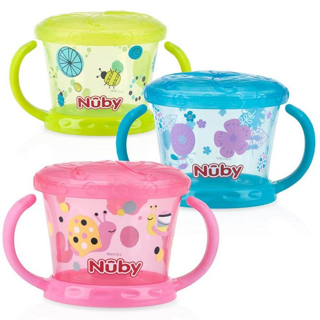 Nuby - Snack Keeper And Trade 3 Piece