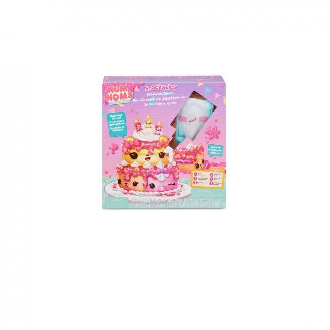 Num Noms - Snackables Birthday Cake Slime Kit