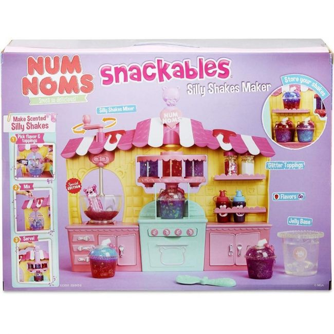 Num Noms - Snackables Silly Shks Mkr Plyst