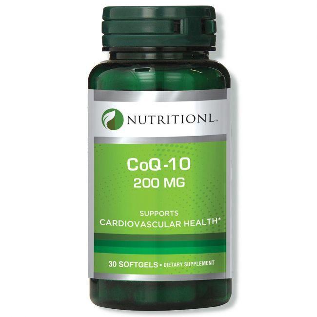 Nutritionl - CoQ10 200mg 30 Softgels