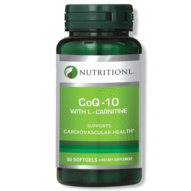 Nutritionl - CoQ10 30mg With L-Carnitine 50 Softgels