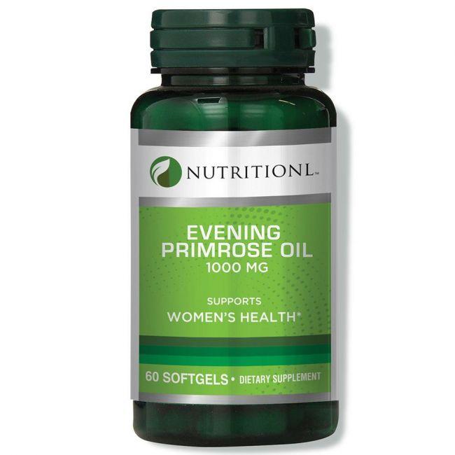 Nutritionl - Evening Primrose Oil 1000mg 60 Softgels