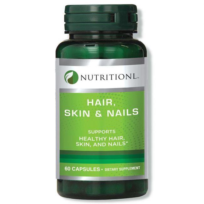 Nutritionl - Hair Skin & Nails 60 Capsules