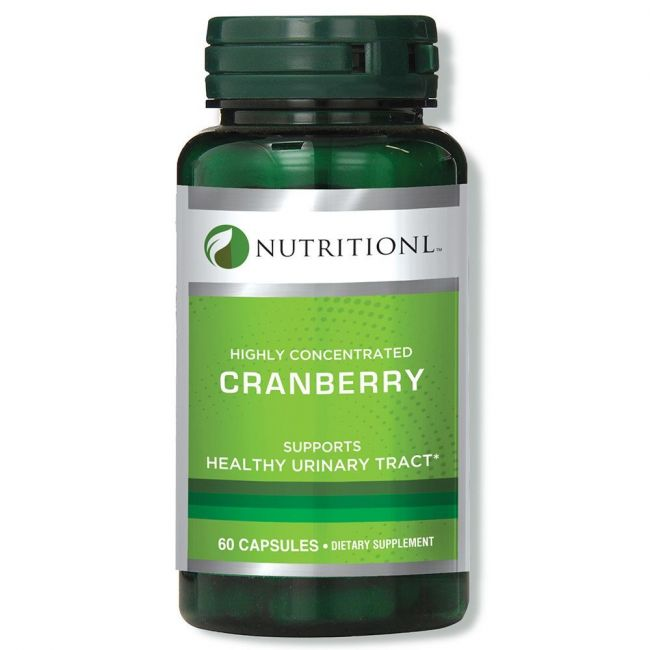 Nutritionl - Highly Concentrated Cranberry 60 Capsules