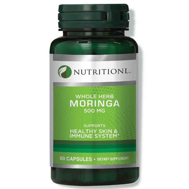 Nutritionl - Moringa 500mg - 60 Capsules