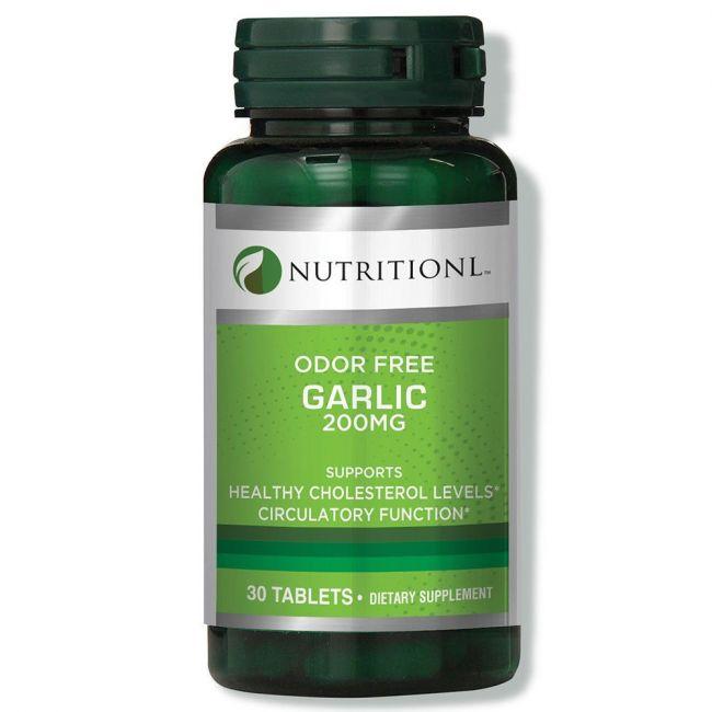 Nutritionl - Odor Free Garlic 200mg - 30 Tablets