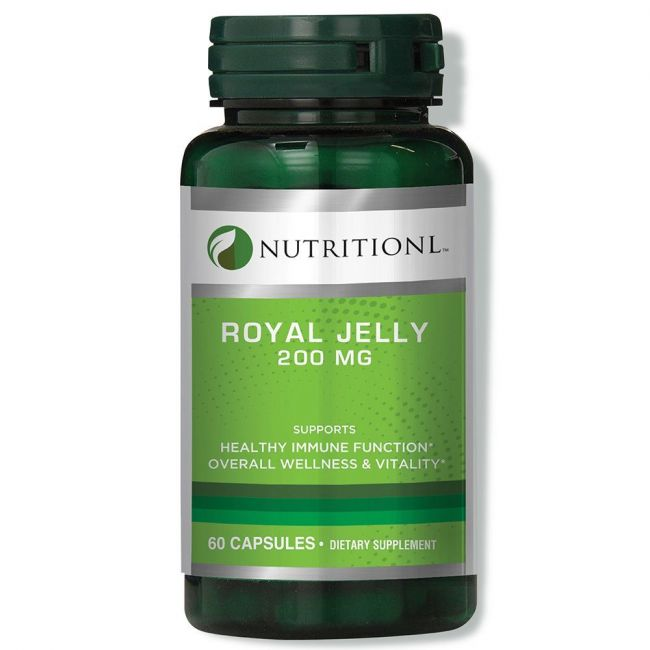 Nutritionl - Royal Jelly 200mg 60 Capsules