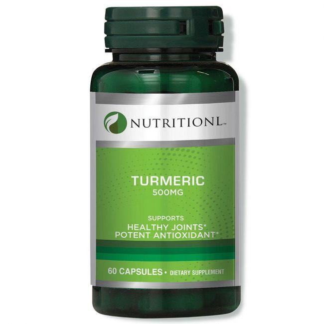 Nutritionl - Turmeric 500mg - 60 Capsules