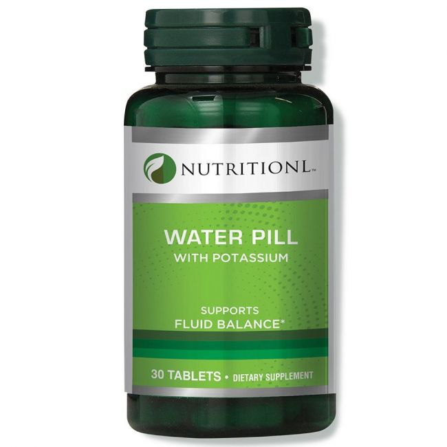 Nutritionl - Water Pill - 30 Tablets