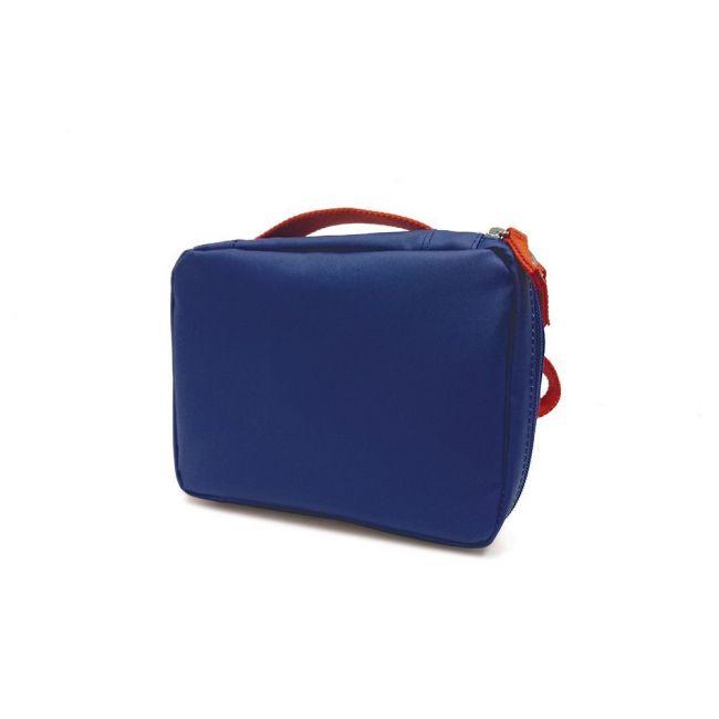 Ekobo - Go RePet Lunch Bag Royal Blue / Persimmon