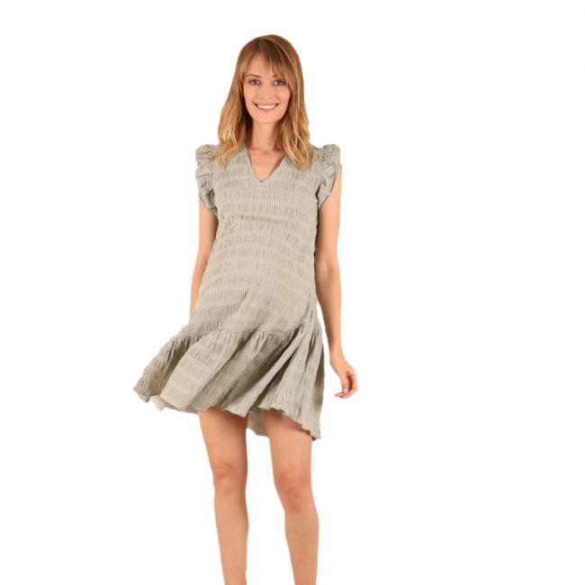 oh9shop - Mint Green Pasha Ruffles Dress