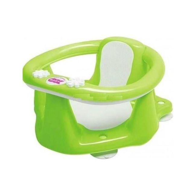 Okbaby Flipper Evolution Bath Seat with Slip-Free Rubber - Pista Green