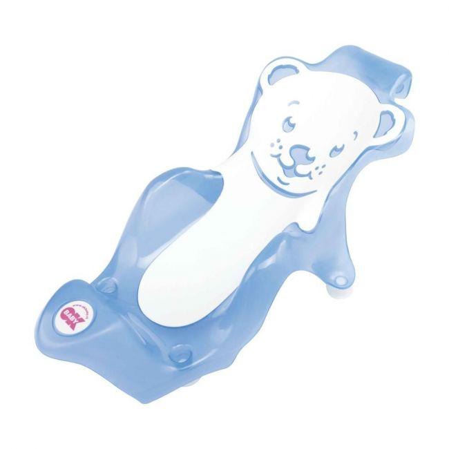 Okbaby - Buddy Bath Seat With Slip-Free Rubber - Blue