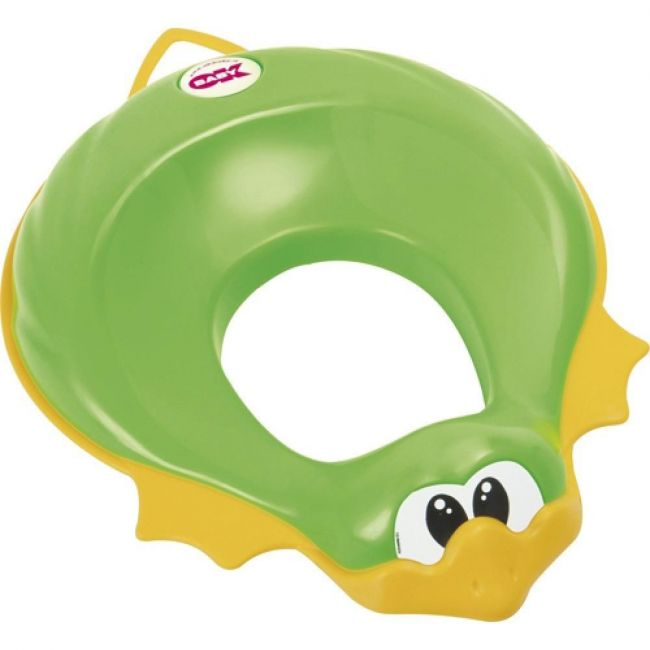 OKbaby - Ducka Funny Toilet Seat Reducer - Green