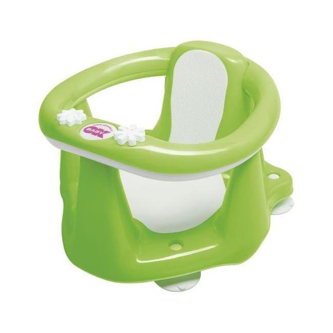 Okbaby Flipper Evolution Bath Seat with Slip-Free Rubber - Green