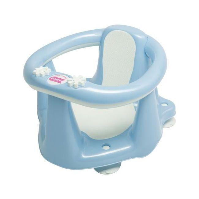 Okbaby Flipper Evolution Bath Seat with Slip-Free Rubber - Light Blue