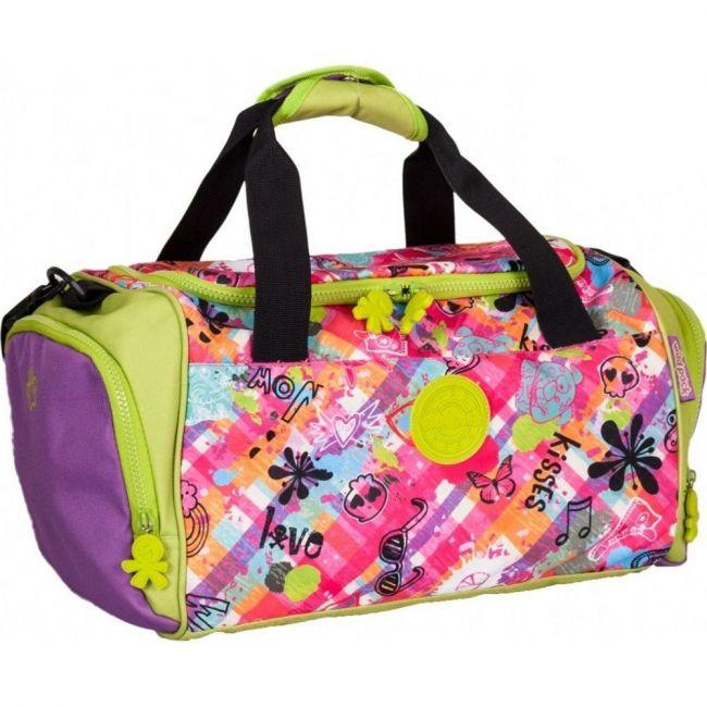 Okiedog Wildpack Graffiti Girl Sports Bag