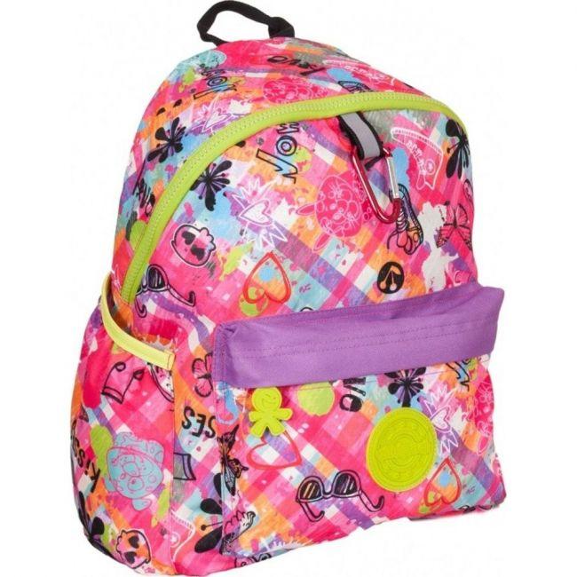 Okiedog Wildpack Graffiti Large School Backpack Girl