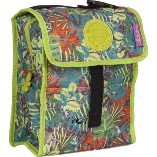 Okiedog Wildpack Jungle Fever Foldable Lunch Bag Boy