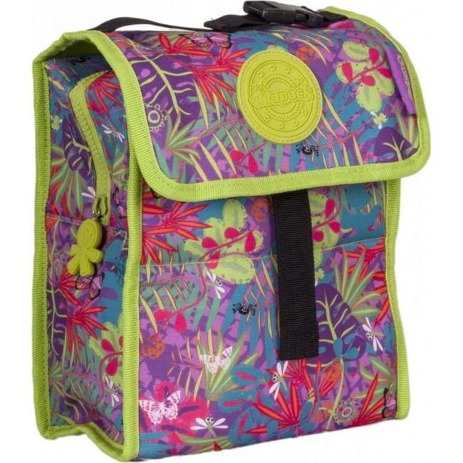 Okiedog Wildpack Jungle Fever Foldable Lunch Bag Girl