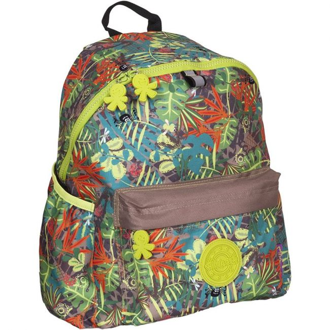 Okiedog Wildpack Jungle Fever Large Backpack- Boy