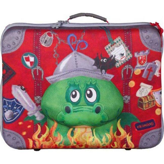 Okiedog Wildpack Kids Suitcase - Dragon
