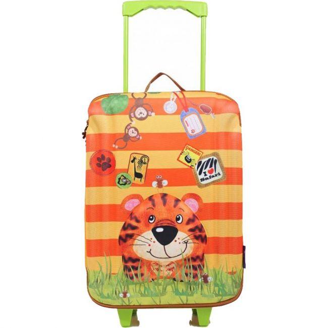 Okiedog Wildpack Large Trolley Bag - Tiger